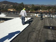 Commercial Flat Roofing in Los Angeles, CA (2)