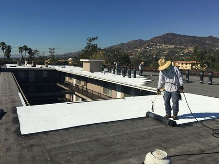 Commercial roofing in Inglewood by ABI Construction Inc